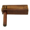 show larger image of product view 1 : Original U.S. WWI Wooden Gas Alarm Rattle marked H.P.I. Original Items