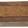 show larger image of product view 3 : Original U.S. WWI Wooden Gas Alarm Rattle marked H.P.I. Original Items