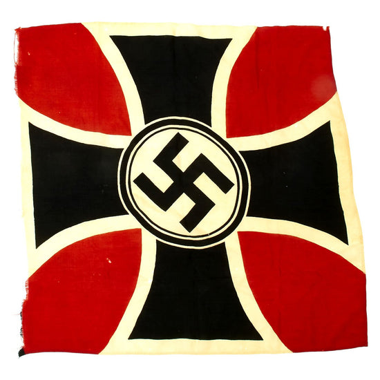 Original German WWII National Socialist State Veteran's Association Flag - NSRKB
