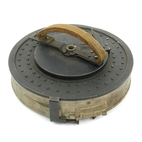 Original British WWII .303 Vickers K Machine Gun Drum Magazine