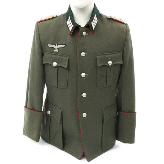 Original German WWII Army Artillery Tailored Officer Colonel Tunic - Oberst