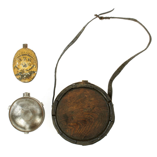 Original U.S. Civil War Canteen Collection