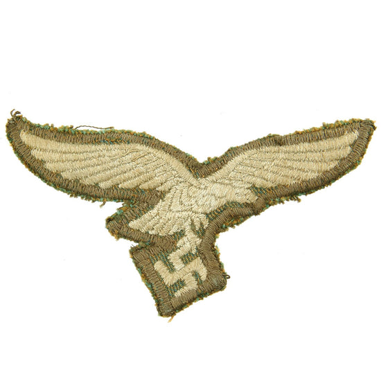 Original German WWII Rare 1st Pattern Paratrooper Smock Luftwaffe Eagle Insignia Cut Out