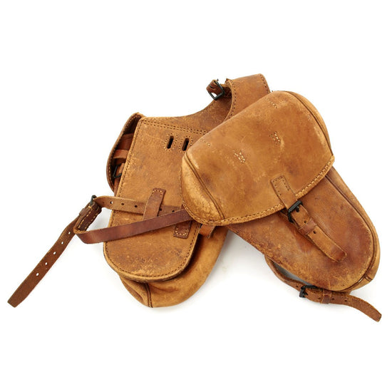 Original WWII Imperial Japanese Army Cavalry Saddlebags