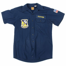 Original U.S. Blue Angles Navy Flight Demonstration Squadron Flight Crew Shirt - Taletsky