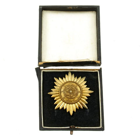 Original German WIII Ostvolk Eastern Peoples Medal First Class in Gold with Case