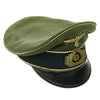 show larger image of product view 3 : Original German WWII Army Heer Officer Simulated Crusher Visor Cap Original Items