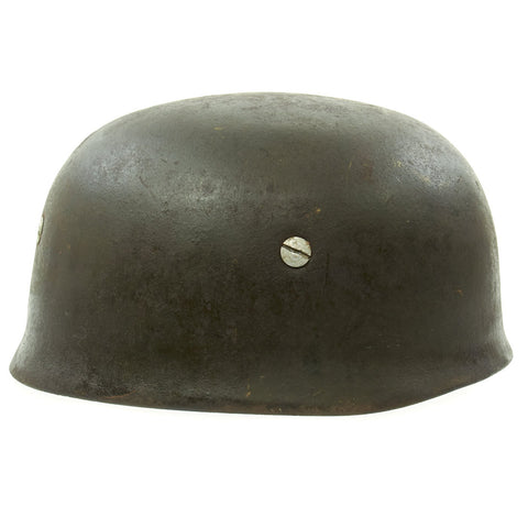 Original German WWII M38 Luftwaffe Paratrooper Helmet