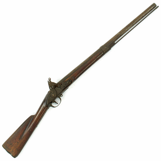 Original French Napoleonic Flintlock Musket Converted to Percussion Shotgun for Civilian Use
