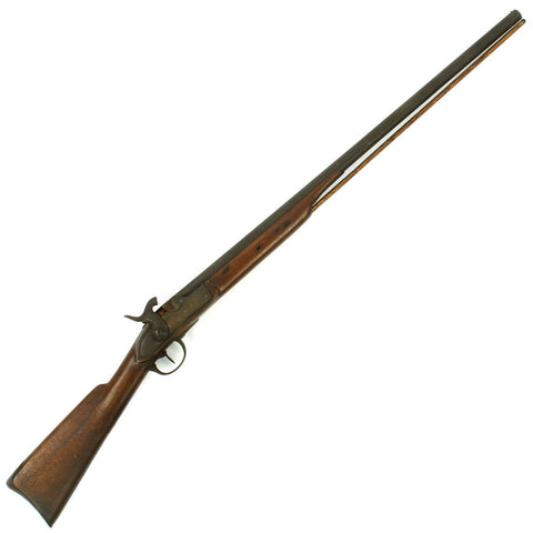 Original U.S. Civil War Era Swiss Model 1842 Percussion Musket Half-Stocked for Civilian Use