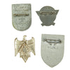 show larger image of product view 6 : Original German WWII Tinnie Award Pin Collection - Set of 10 Original Items