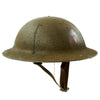 show larger image of product view 3 : Original U.S. WWI M1917 37th Engineer Battalion Doughboy Helmet With Textured Paint Original Items