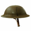show larger image of product view 4 : Original U.S. WWI M1917 37th Engineer Battalion Doughboy Helmet With Textured Paint Original Items