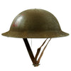 show larger image of product view 5 : Original U.S. WWI M1917 37th Engineer Battalion Doughboy Helmet With Textured Paint Original Items