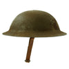 show larger image of product view 6 : Original U.S. WWI M1917 37th Engineer Battalion Doughboy Helmet With Textured Paint Original Items