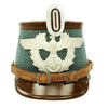 show larger image of product view 1 : Original German WWII Rural Polizei Shako by Hans Romer - Size 56cm Original Items