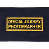 show larger image of product view 2 : Original U.S. WWII Official U.S. Army Photographer Brassard Armband