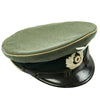 show larger image of product view 5 : Original German WWII Wehrmacht Army Heer Named Infantry NCO EM Visor Cap - Size 58 Original Items