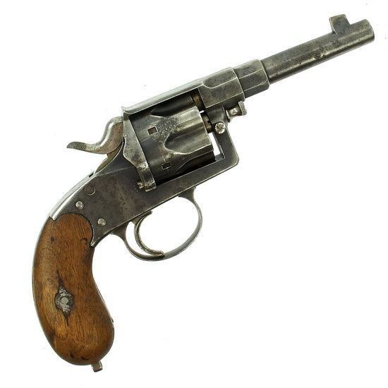 Original Imperial German M1883 Reichsrevolver by Erfurt dated 1893 - Serial 1527