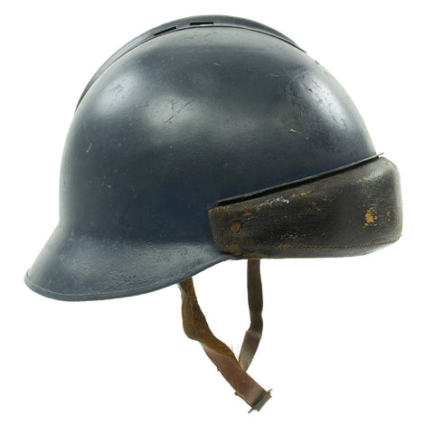 Original French M45 Joan of Arc Mle45 Helmet - Dated 1950