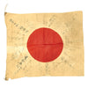 "show larger image of product view 7 : Original Japanese WWII Hand Painted Cloth Good Luck Flag - 27"" x 31"" Original Items"