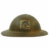 "show larger image of product view 2 : Original U.S. WWI M1917 Doughboy Helmet with 42"" Framed Photo of the 317th Infantry Regiment Original Items"