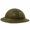"show larger image of product view 4 : Original U.S. WWI M1917 Doughboy Helmet with 42"" Framed Photo of the 317th Infantry Regiment Original Items"