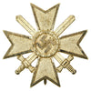 show larger image of product view 1 : Original German WWII War Merit Cross KvK 1st Class with Swords by Kerbach & Österhelt of Dresden Original Items