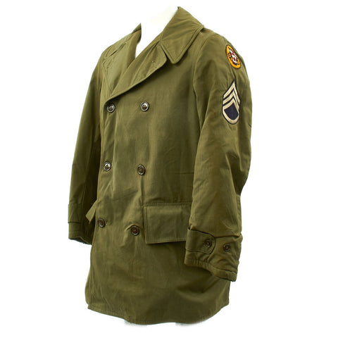 Original U.S. WWII Named Tank Destroyer Mackinaw Coat Jeep Jacket Original Items