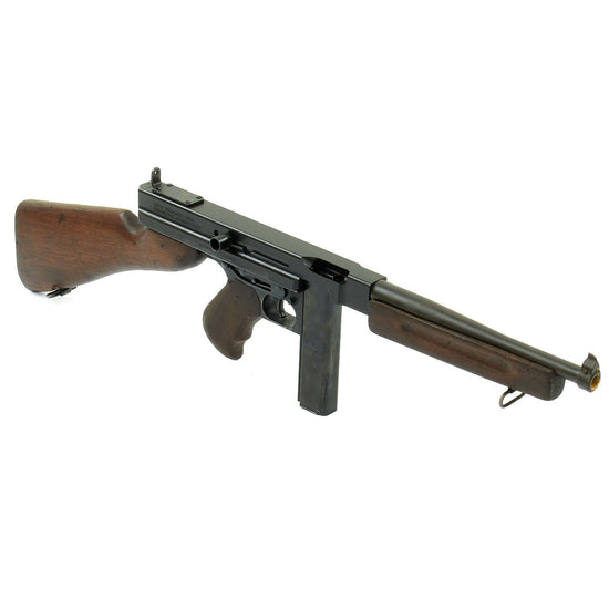 Original U.S. WWII Thompson M1A1 Display Submachine Gun