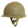 show larger image of product view 1 : Original U.S. WWII 1944 M1 McCord Swivel Bale Front Seam Helmet with Converted Paratrooper Liner Original Items