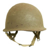 show larger image of product view 5 : Original U.S. WWII 1944 M1 McCord Swivel Bale Front Seam Helmet with Converted Paratrooper Liner Original Items