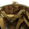 show larger image of product view 12 : Original U.S. WWII 1944 M1 McCord Swivel Bale Front Seam Helmet with Converted Paratrooper Liner Original Items