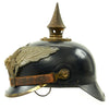 show larger image of product view 6 : Original Imperial German WWI Prussian Garde Corps Steel Pickelhaube Helmet with Chin Strap - Metalhelm Original Items