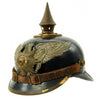 show larger image of product view 7 : Original Imperial German WWI Prussian Garde Corps Steel Pickelhaube Helmet with Chin Strap - Metalhelm Original Items