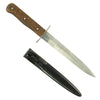 show larger image of product view 2 : Original German WWII Luftwaffe Fallschirmjäger Fighting Knife - Weimar Eagle 5 Marked Original Items