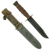 show larger image of product view 1 : Original WWII Unissued U.S. Navy Mark 2 KA-BAR Fighting Knife by Union Cutlery with USN MK2 Scabbard Original Items