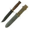 show larger image of product view 2 : Original WWII Unissued U.S. Navy Mark 2 KA-BAR Fighting Knife by Union Cutlery with USN MK2 Scabbard Original Items