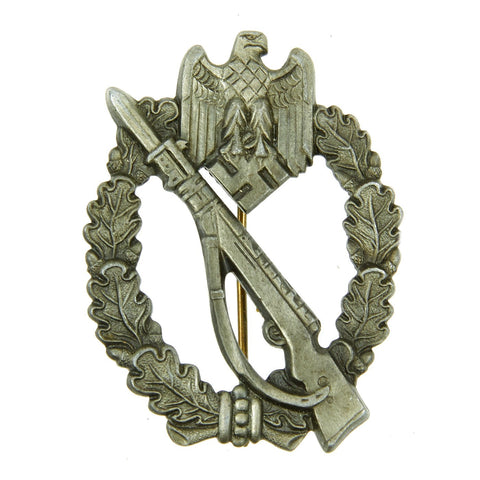 Original German WWII Bronze Grade Infantry Assault Badge by Sohni Heubach & Co. - dated 1941 Original Items