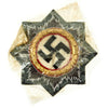 show larger image of product view 1 : Original German WWII Luftwaffe Gold 1941 German Cross Award Embroidered Cloth Badge in Cellophane Original Items