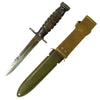 show larger image of product view 2 : Original U.S. WWII Imperial M4 Bayonet for M1 Carbine with M8A1 Scabbard by B.M. Co Original Items