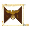 show larger image of product view 1 : Original German WWII NSDAP Kreisleiter Vehicle Pennant - RZM Marked - Unissued Original Items