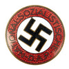 show larger image of product view 1 : Original German NSDAP Party Enamel Membership Badge Pin by Wilhelm Deumer - RZM M1/120 Original Items