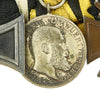 show larger image of product view 4 : Original Imperial German WWI Era Medal Bar with EKII and Kingdom of Württemberg Medals - 4 Awards Original Items