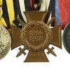 show larger image of product view 5 : Original Imperial German WWI Era Medal Bar with EKII and Kingdom of Württemberg Medals - 4 Awards Original Items