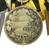 show larger image of product view 12 : Original Imperial German WWI Era Medal Bar with EKII and Kingdom of Württemberg Medals - 4 Awards Original Items