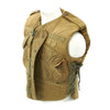 show larger image of product view 3 : Original U.S. Vietnam War M-1952A Flak Body Armor Vest by Stein Bros - Dated 1953
