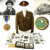 show larger image of product view 1 : Original U.S. WWII 91st Troop Carrier Squadron Named Glider Pilot Grouping
