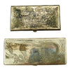 show larger image of product view 1 : Original U.S. WWII China Marine Silver Cigarette Case TSINGTAO, CHINA - Set of 2 Original Items