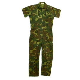 Original U.S. Vietnam War F-4 Phantom Pilot Major Al Winkelman Camouflage Flight Suit